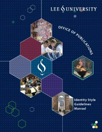 Identity Style Guidelines Manual - Lee University