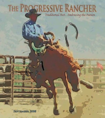 The Progressive Rancher September 2008