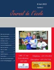 Journal de l'école