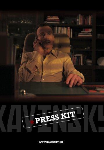PRESS KIT - KAVINSKY