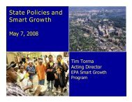 State Policies and Smart Growth - Good Jobs First
