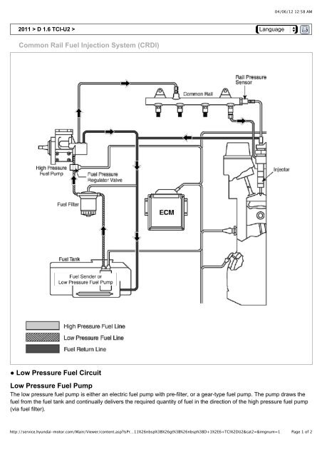 Common Rail Fuel Injection System (