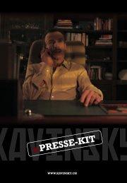 PRESSE-KIT - KAVINSKY