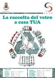 CALENDARIO RACCOLTA VETRO - ANNO 2013.pdf - Comune di ...