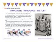 MONARCHS THROUGHOUT HISTORY - First News