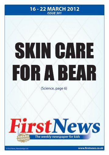 16 - 22 MARCH 2012 - First News