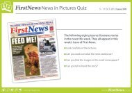 FirstNewsNews in Pictures Quiz