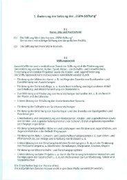 """1. Änderung der Satzung der """"OSPA-Stiftung"""" - OstseeSparkasse ..."""