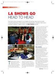 LA Textile Show Spring - FabricLink