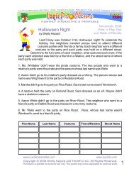 Halloween Night - Puzzlers Paradise