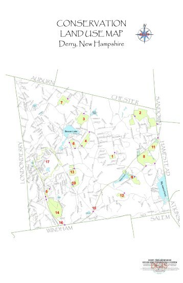 CONSERVATION LAND USE MAP Derry, New ... - Town of Derry