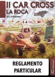 REGLAMENTO PARTICULAR - Motor Racing Cantabria