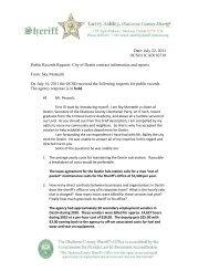 Destin incident records - Okaloosa County Sheriff's Office