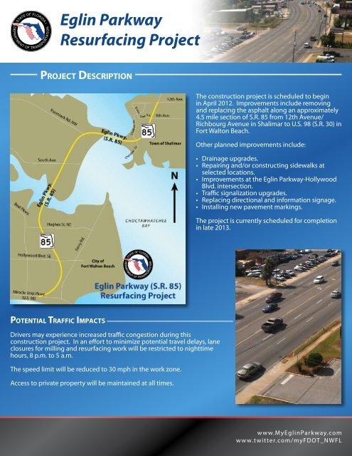 Eglin Parkway Resurfacing Project