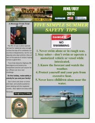 five simple summer safety tips - Okaloosa County Sheriff's Office