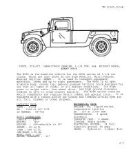 TM 11240-15/4B TRUCK, CARGO, DROPSIDE, 5 TON, 6x6     - JED