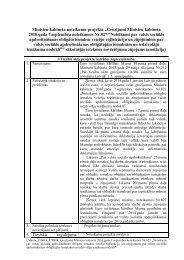 Grozījumi Ministru kabineta 2010.gada 7.septembra noteikumos Nr ...