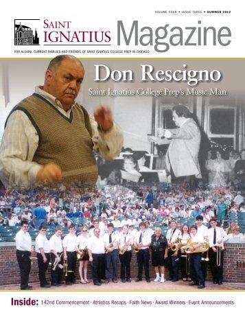 Don Rescigno - St. Ignatius College Prep