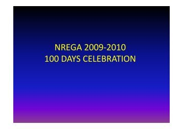 NREGA 2009-2010 100 DAYS CELEBRATION - DRDA,Koraput