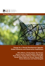 Global Scenarios and Governance Implications - COMMEND ...