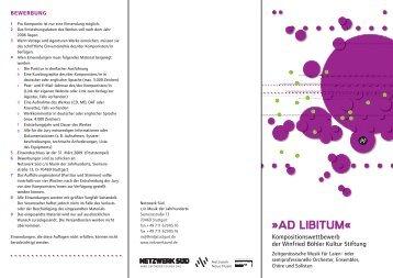 ad-libitum-Flyer download - wb-st.de