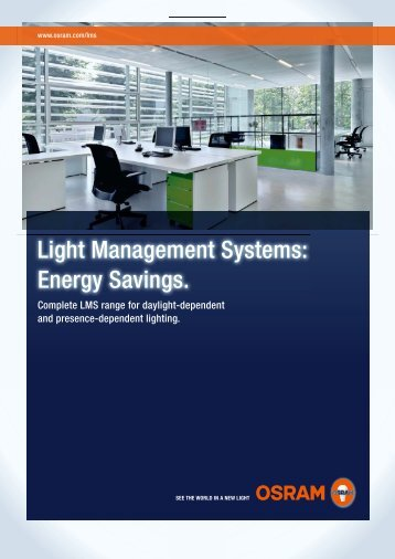 Light Management Systems - Energy Savings - Osram
