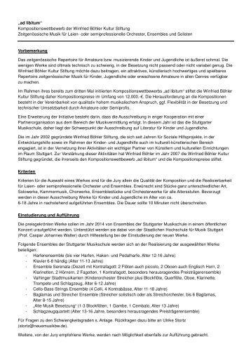 2013 Ausschreibung ad libitum 1 - wb-st.de