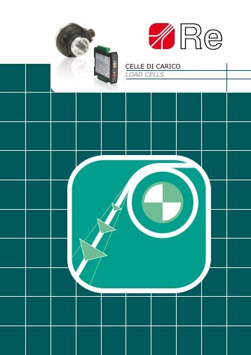 ceLLe dI caRIco LOAD CELLS - Manupala industrie