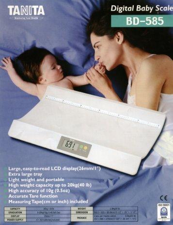 Tanita Baby Scales