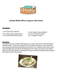 Herbed White Wine Linguine with Clams