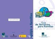 Guía de servicios para las familias. - Feaps