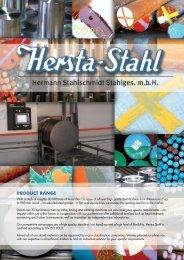 case hardening steels - Hersta