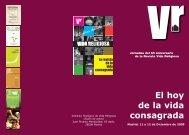 Descarga el programa de las conferencias - Ciudad Redonda