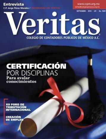 CERTIFICACIÓN POR DISCIPLINAS - Departamento Académico de ...