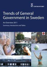 Trends of General Government in Sweden 2011. An ... - Statskontoret