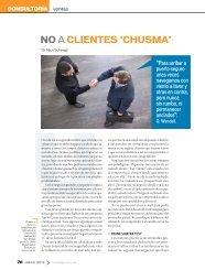 NO a clieNtes 'chusma' - Universidad Anáhuac México Sur