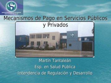 Dr. Tantalean Mec. de Pago en SS Públicos y Privados - FEPAS