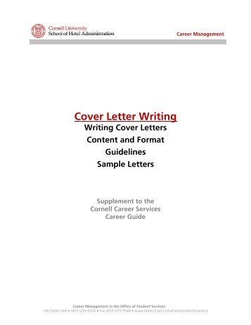 cover letter for writing
