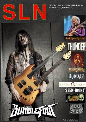 SOUNDS LIKE NEW Nº 37 (HEAVY ROCK MAGAZINE)