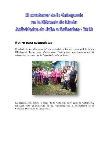 Retiro para catequistas - Cenacat.org