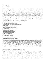Hacia comunidades catequizadas y catequizantes - Fossion, A.