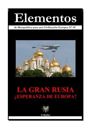 Elementos Nº 45 RUSIA - El Manifiesto