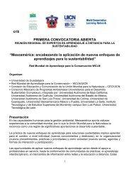 crib PRIMERA CONVOCATORIA ABIERTA - Coordinación de ...