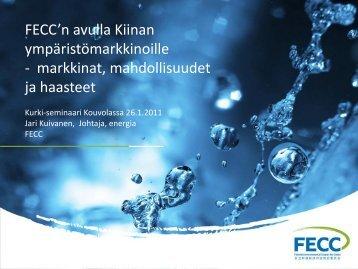 FECC-Jari Kuivanen - Kurki-hanke