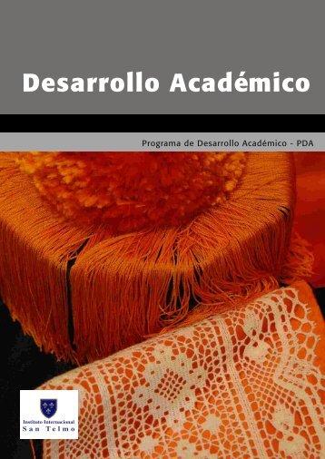 Para más información véase el folleto - Instituto Internacional San ...