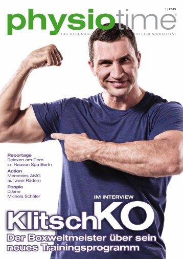 physiotime | Ausgabe 1/2015