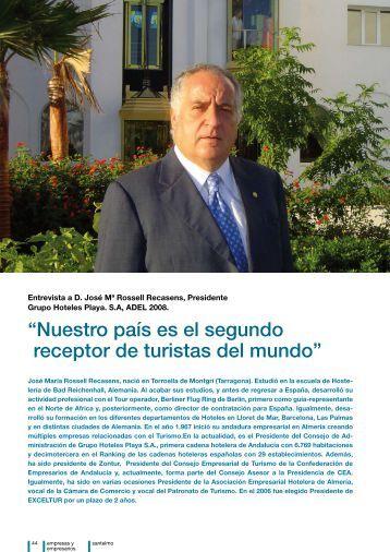 Nuestro país es el segundo receptor de turistas del mundo - Instituto ...