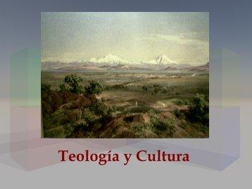 Teología y cultura: presentación - amoz.com.mx