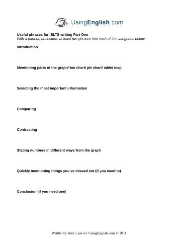 ielts phrases for writing pdf