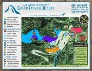 Festival Map - Grand Targhee Resort